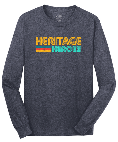 Heritage - Long Sleeve Tee - Navy