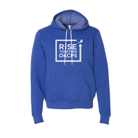 OKCPS Rise Together Hoodie - Blue