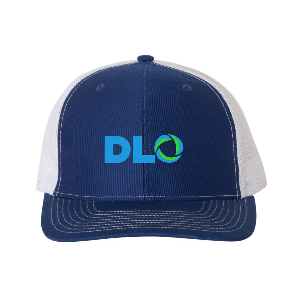 DLO Hat - Royal/White