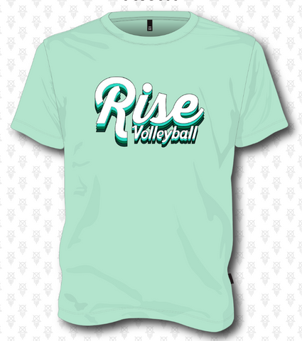 Rise Volleyball Short Sleeve - Mint