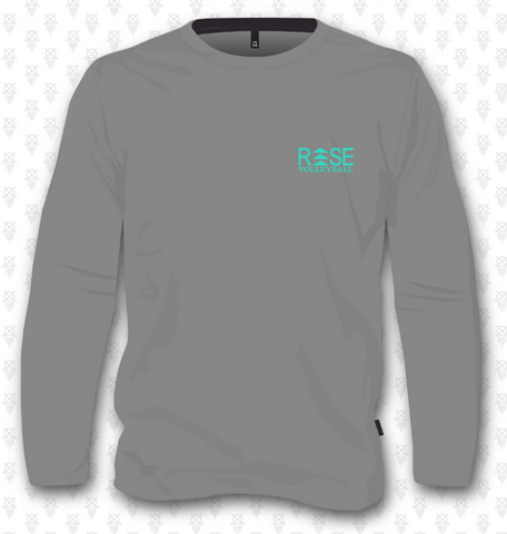 Rise Volleyball Sweatshirt - Grey Triblend