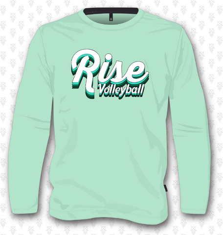 Rise Volleyball Sweatshirt - Mint