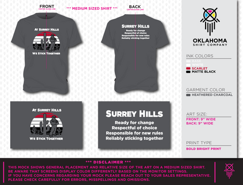 Surrey Hills Youth T-shirt