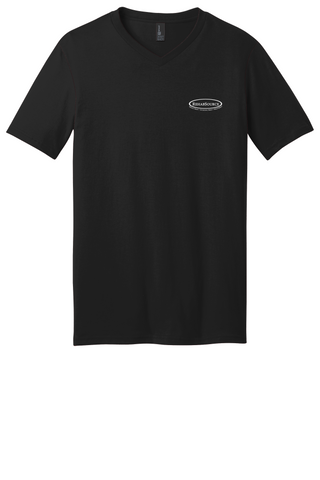 Rehab Source - Black V-neck - Logo Only