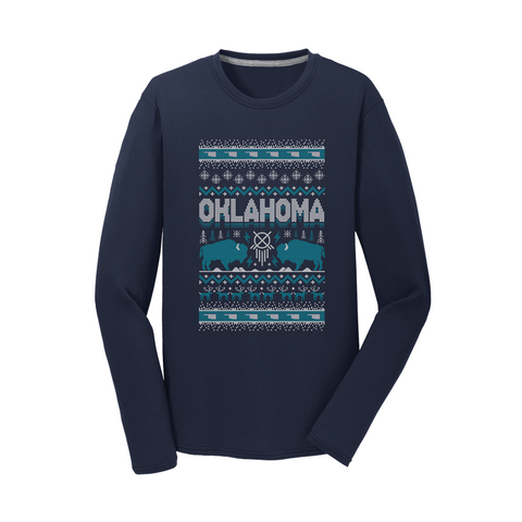 OKLA-Christmas Sweater Print