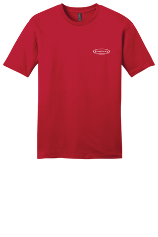 Rehab Source - Classic Red T-shirt - Logo Only