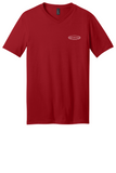Rehab Source - Classic Red V-neck - Logo Only