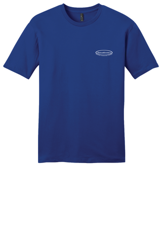 Rehab Source - Deep Royal T-shirt - Logo Only