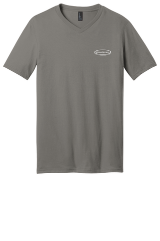Rehab Source - Grey V-neck - Logo Only