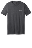 RS Values - Heathered Charcoal V-neck