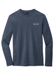 Rehab Source - Heathered Navy Long Sleeve - Logo Only