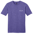 Rehab Source - Heathered Purple T-shirt - Logo Only