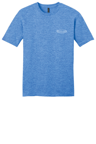 Rehab Source - Heathered Royal T-shirt - Logo Only