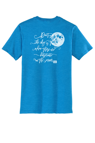 Rehab Source - Heathered Bright Turquoise T-shirt