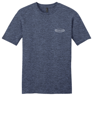 Rehab Source - Heathered Navy T-shirt - Logo Only