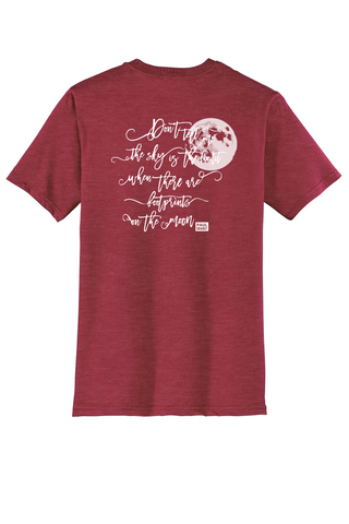 Rehab Source - Heathered Red T-shirt