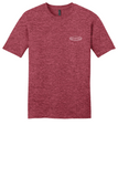 Rehab Source - Heathered Red T-shirt - Logo Only