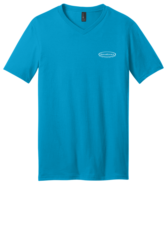 Rehab Source - Light Turquoise V-neck