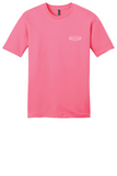 Rehab Source - Neon Pink T-shirt - Logo Only