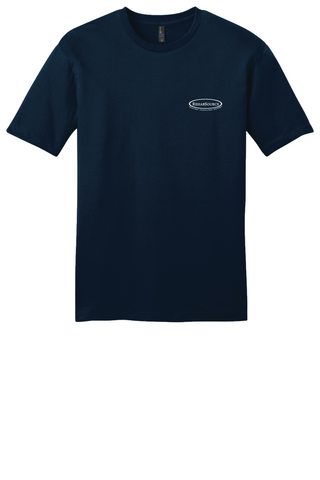 Rehab Source - New Navy T-shirt - Logo Only