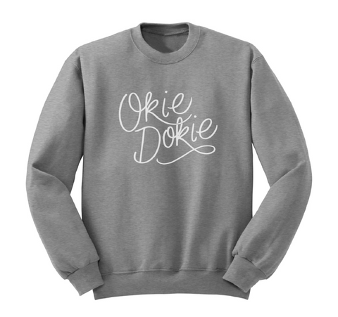 SWEATSHIRT-SEP14-OKIE DOKIE