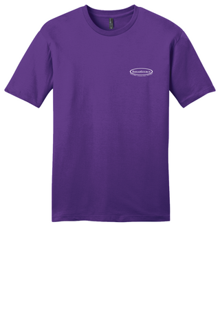Rehab Source - Purple T-shirt - Logo Only