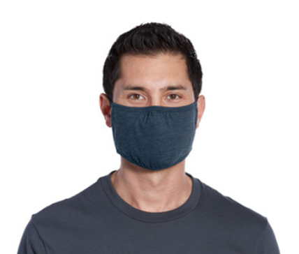 District V.I.T. Shaped Face Mask by Oklahoma Shirt Company
