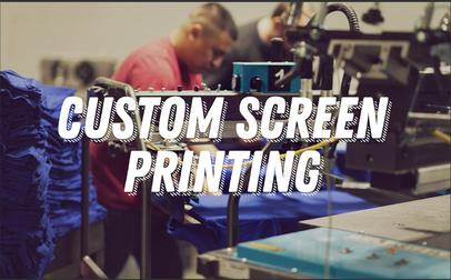 Oklahoma City screen printing