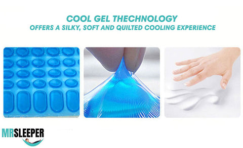 neck pillow - gel technology - nano pillow