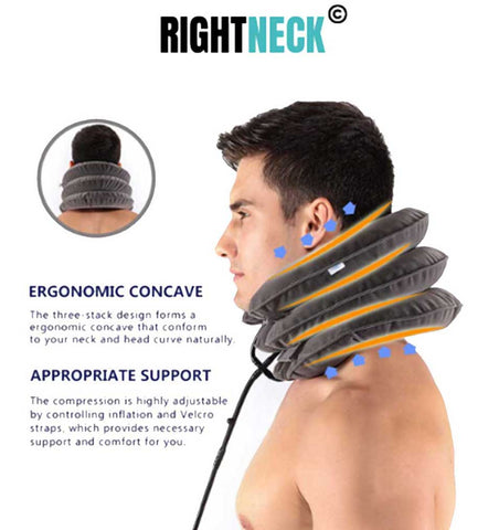 best traction device- cervical neck pillow- rightneck