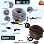 Mrsleeper-RIGHTNECK™- Inflatable Cervical Pillow-neck traction device