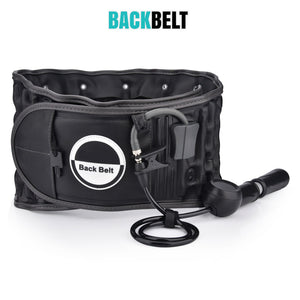 Lumbar Decompression BACKBELT™- MrSleeper - Black