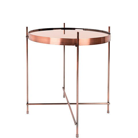 RESAU COPPER SIDE TABLE