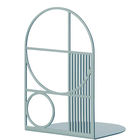 BOOKEND DUSTY BLUE