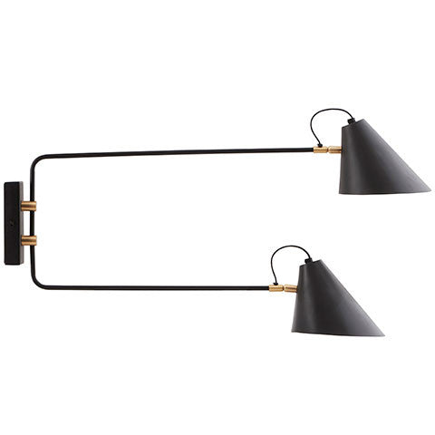 CLUB DOUBLE SCONCE