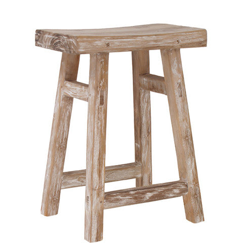 ESCABE WOODEN STOOL
