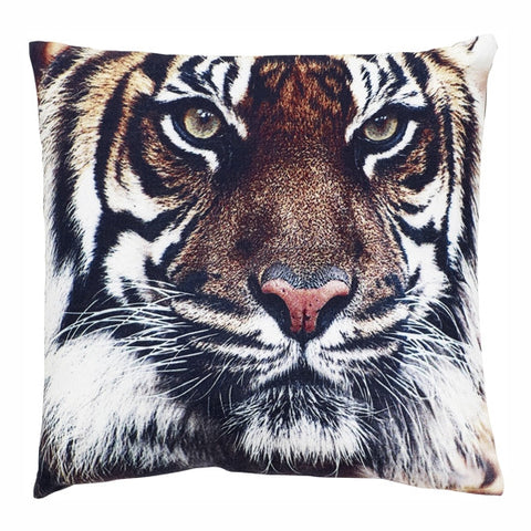 TIGER PRINTED PILLOW