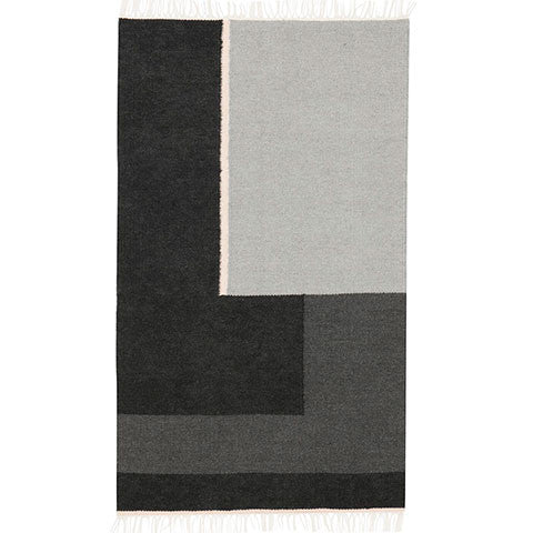 SECTION MONOCHROME RUG