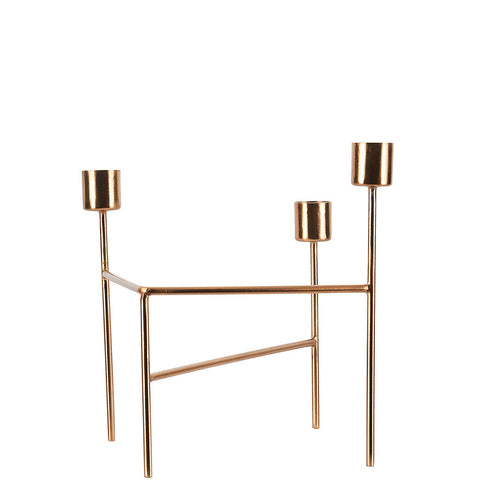 TROIS GOLD CANDLE HOLDER