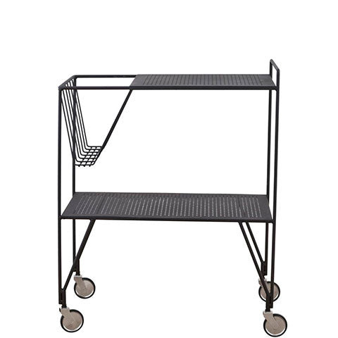 TROLLEY SERVING TABLE