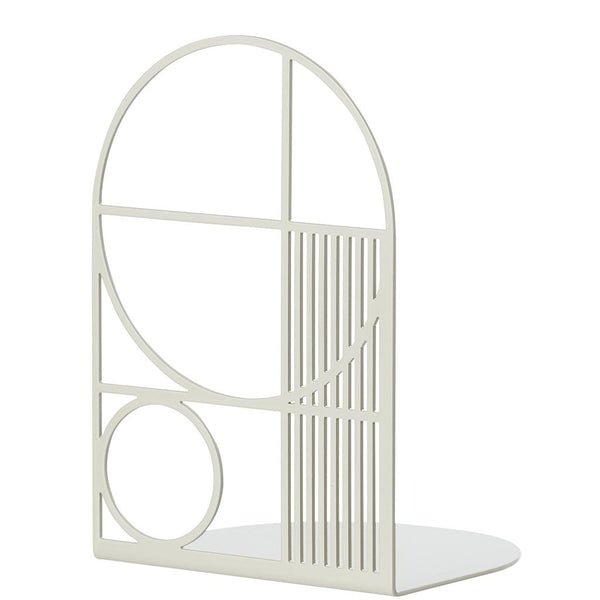 BOOKEND LIGHT GREY