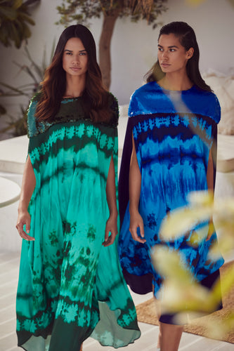 Tie Dye Kaftan/Dress