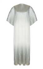 Load image into Gallery viewer, Pleated Metallic Kaftan