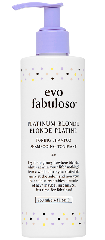 Platinum Blonde Toning Shampoo 250ml