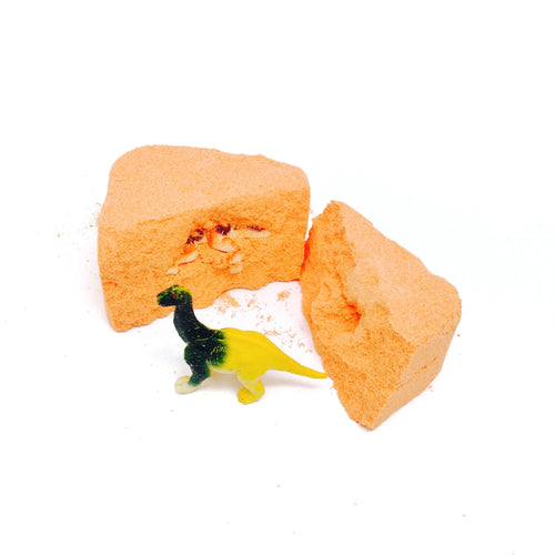 Dinosaurous Citrus Surprise Bath Bomb