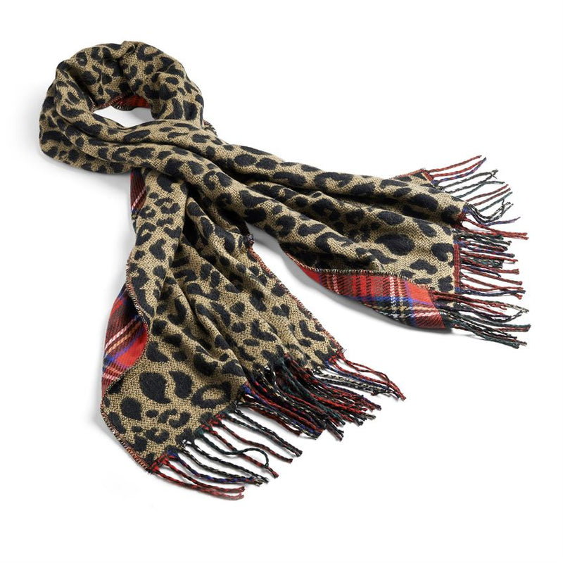 About Face Reversible Oblong Scarf