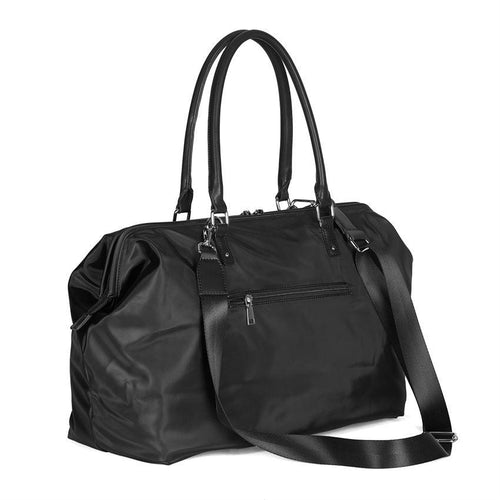 Ava Travel Wide Mouth Duffel Bag-Black