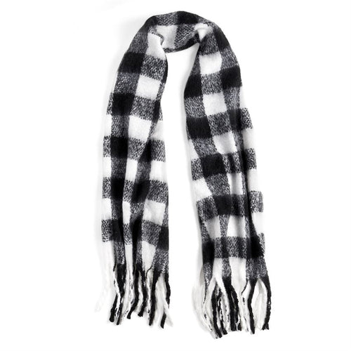 Supersoft Buffalo Plaid Oblong Scarf