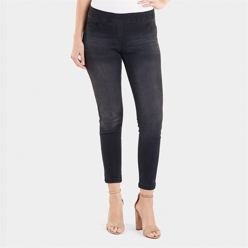 OMG Skinny Ankle Jean-Black Denim