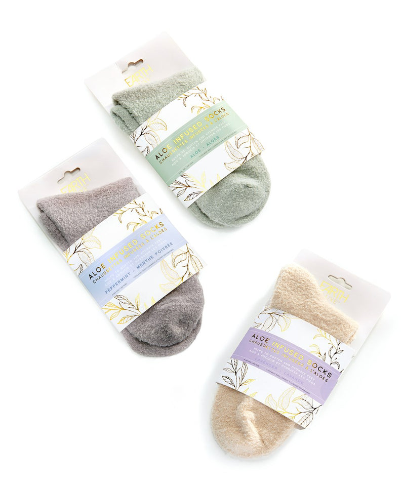 Earth Luxe Aloe Infused Socks